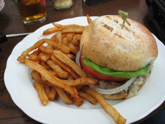 The Cheeseburger at Brasserie T!