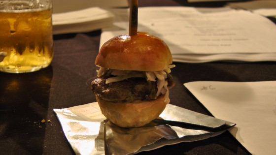 From Bice. Angus beef and mozzarella burger