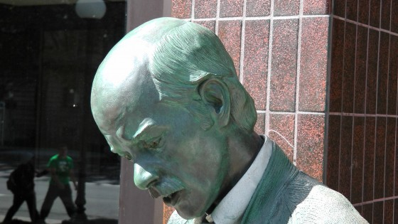 Detail of Catching Up by J. Seward Johnson