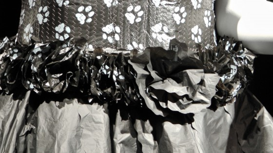Detail from Bag Garment By Mélanie Casavant