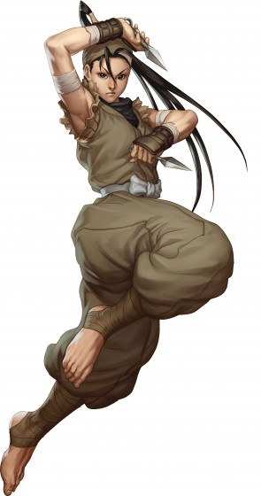 Ibuki from Street Fighter III by Stan Lau