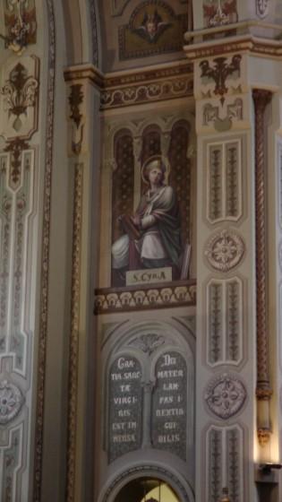 Interior of the Chapelle Notre-Dame-de-Lourdes.