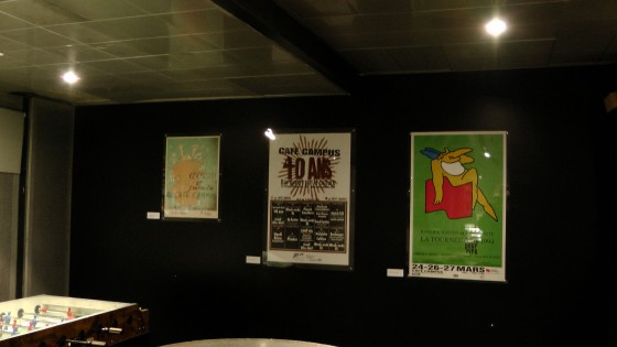 Some more Publicité Sauvage posters from Café Campus.