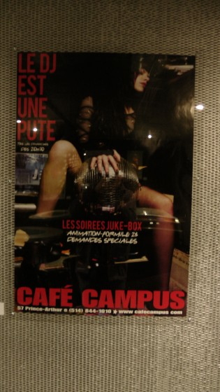 One of my favorite posters from Café Campus.