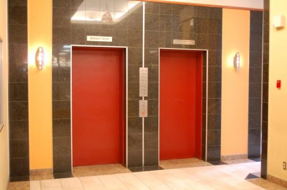 Elevators in some building in Montreal