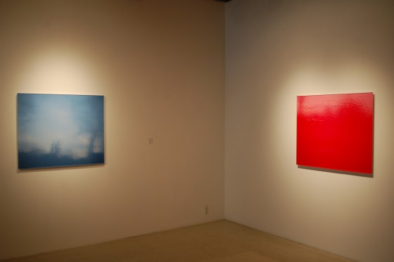 Henri Venne, Somewhere in Between at Art Mur, installation view