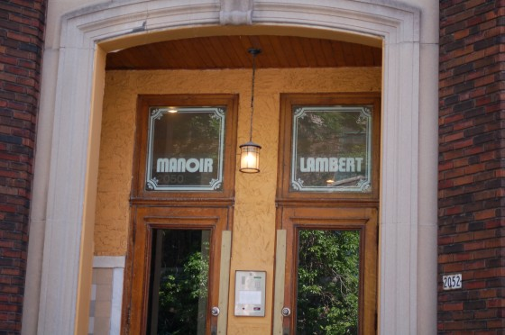 Manoir Lambert on Lambert Closse