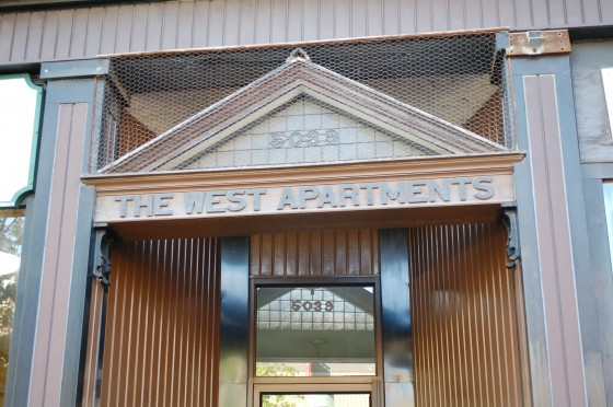 The West Apartments exact location unknown