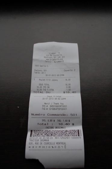 The Bill from Grumman 78