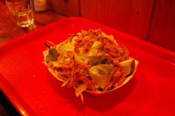 Two Potobello Mushroom Tacos at Icehouse