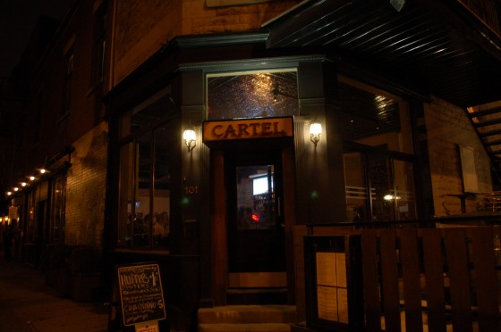 Restaurant Cartel, 101 Fairmount O, Montreal